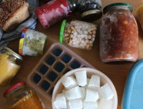 Einfrieren ohne Müll und Plastik Zero Waste