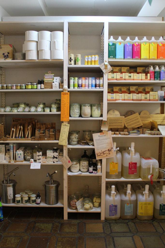 Hygieneartikel bei Tante Lose in Wangen im Allgäu
