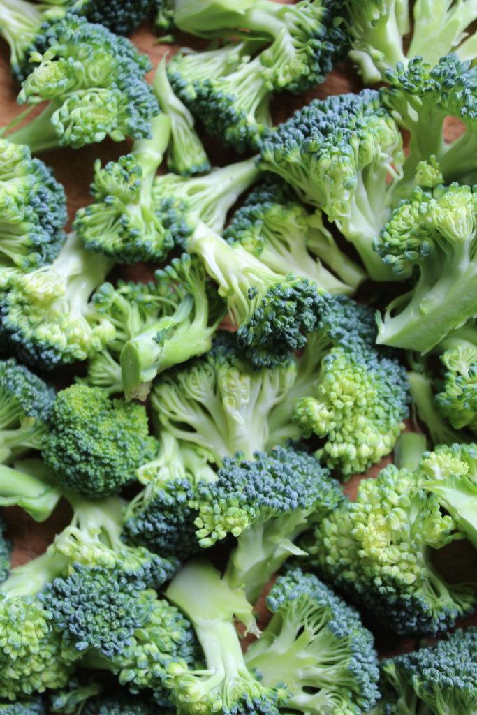 kleine Broccoli Röschen