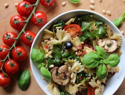 mediterraner Nudelsalat viele kleine dinge