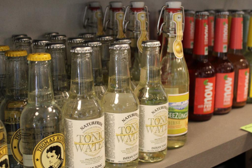 Getränke und Gewürze bei lecker unverpackt in Lindau viele kleine dinge