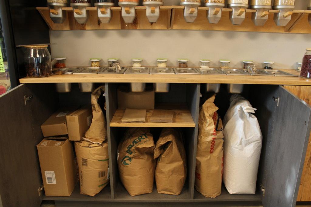 Lagerschränke von lecker undverpackt in Lindau