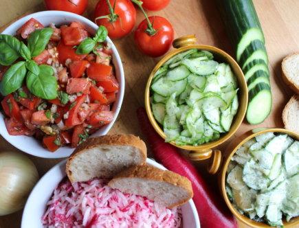 3 einfache Beilagensalate viele kleine dinge