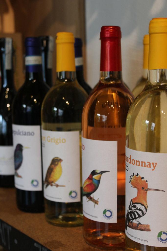 Wein in Pfandflaschen Silo Konstanz viele kleine dinge