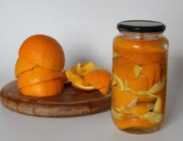 DIY Zero Waste Orangenreiniger viele kleine dinge